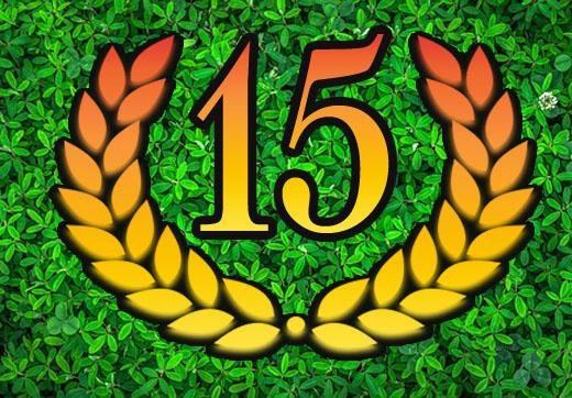 15. Firmenjubiläum