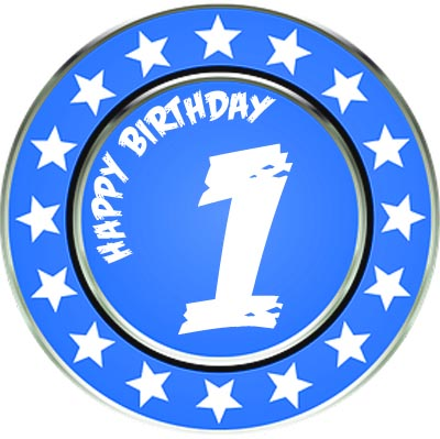 Orden zum 1. Geburtstag
