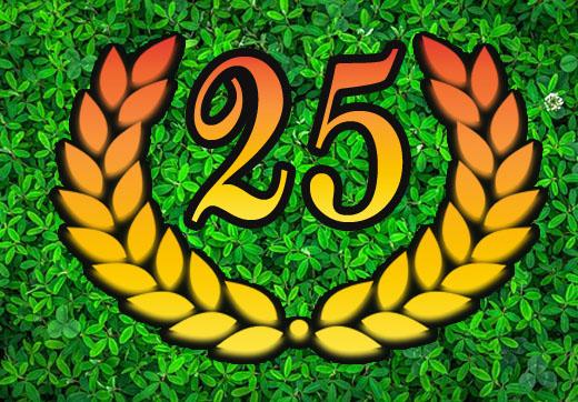 25. Firmenjubiläum