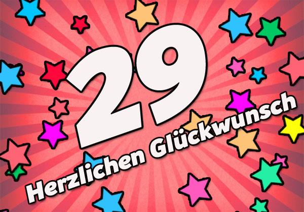 Geburtstag sohn 29