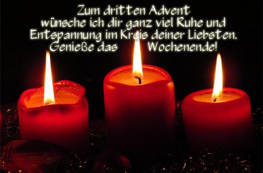 Adventsgrüße für Freunde, Kollegen und Verwandte