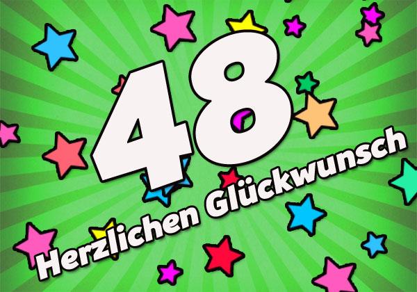WhatsApp Bild zum 48. Geburtstag