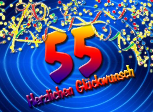 Geburtstagsbild 55 Jahre