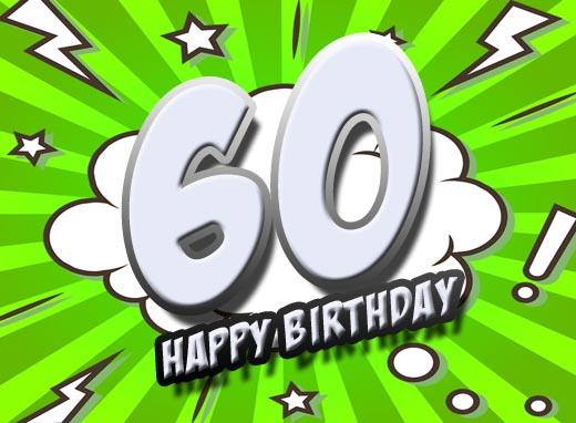 Coole Glückwünsche zum 60. Geburtatag