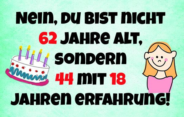 Spruche Und Gluckwunsche Zum 62 Geburtstag
