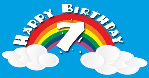 Regebogen zum 7. Geburtstag
