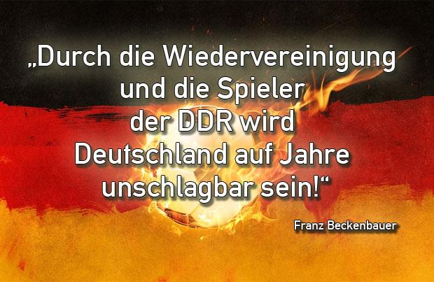 Franz Beckenbauer Zitat