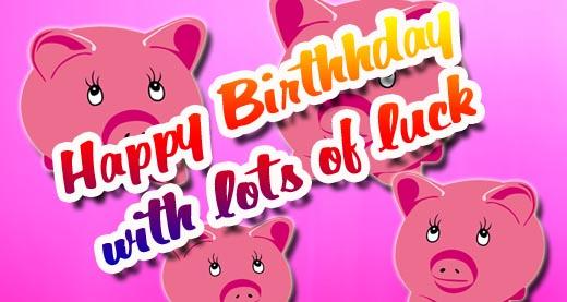 Glück zum Geburtstag wünschen