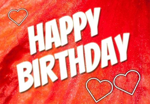 Mit Liebe zum Geburtstag