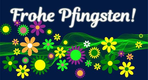 Blumen zu Pfingsten