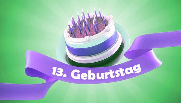 Torte zum 13. Geburtstag