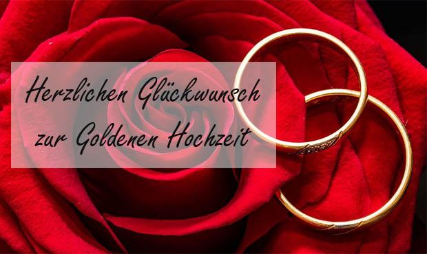Rose zur Goldene Hochzeit