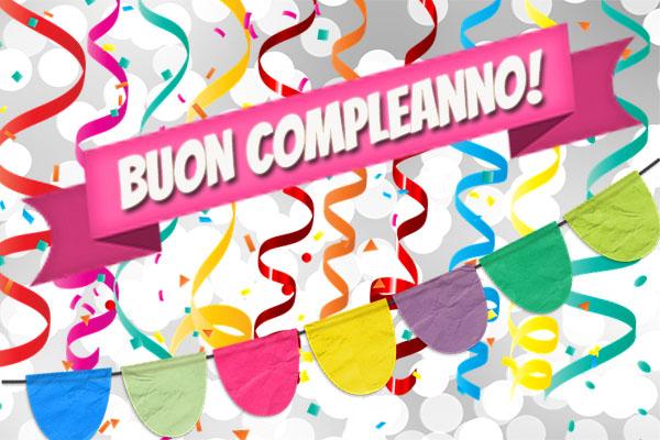 Partystimmung zum Geburtstag auf italienisch