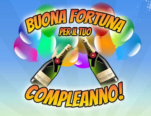 Italienischer Champagner zum Geburtstag