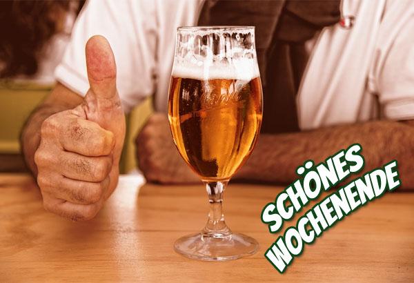 Bier zum Wochenende