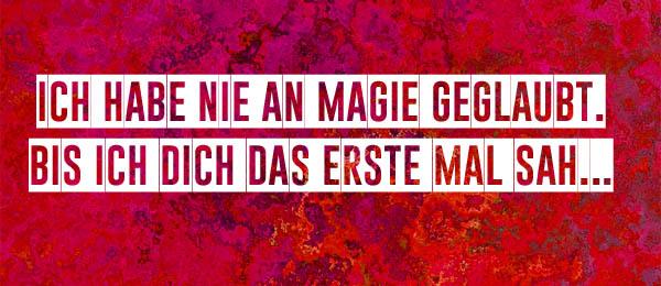 Magischer Spruch aus Liebe