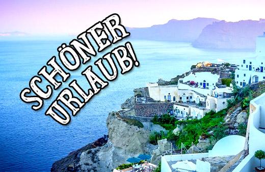 Wünsche für den Mittelmeer Urlaub