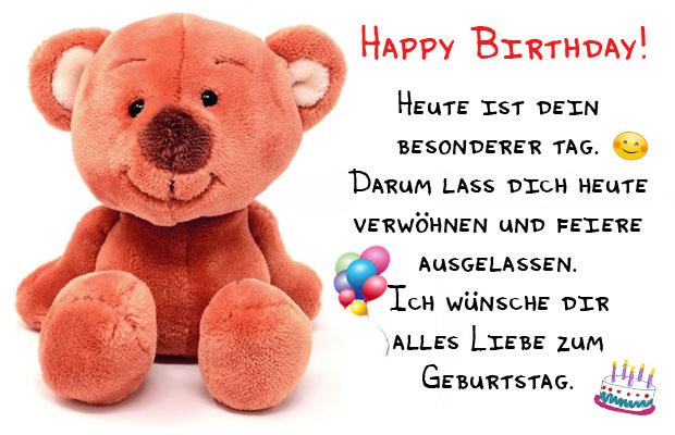 WhatsApp Geburtstagswünsche Bild