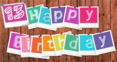 13. Geburtstag Glückwünsche
