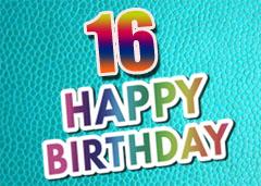 16. Geburtstag Glückwünsche und Sprüche