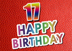 17. Geburtstag Glückwünsche