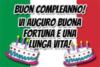 Italienische Geburtstagswünsche