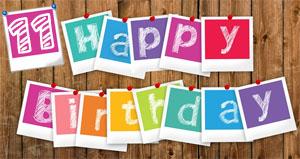 Glückwünsche Zum 11. Geburtstag