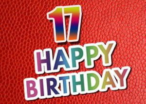 Sprüche und Glückwünsche zum 17. Geburtstag