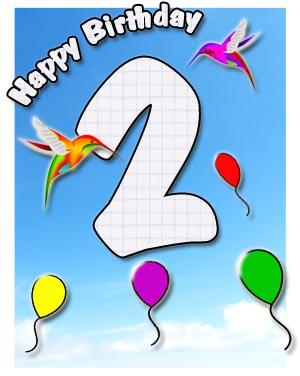 2. Geburtstag Glückwünsche und Sprüche