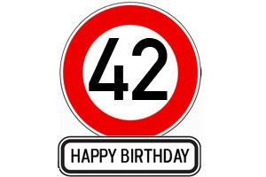 42. Geburtstag Glückwünsche und Sprüche