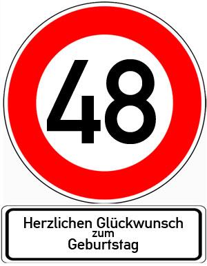 48. Geburtstag Glückwünsche und Sprüche