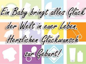 Babyglückwünsche Zur Geburt