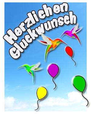 Kindergeburtstag gl ckw nsche und spr che kostenlos - Bilder zum verschicken gratis ...