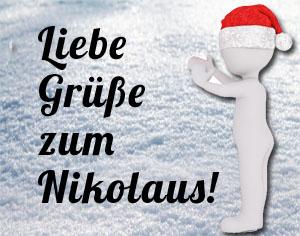 Nikolausgrüße und Sprüche