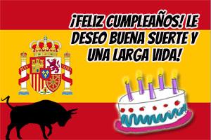 Spanische Geburtstagssprüche und Glückwünsche