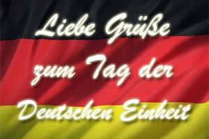 Tag der deutschen Einheit Sprüche und Grüße zum 3. Oktober